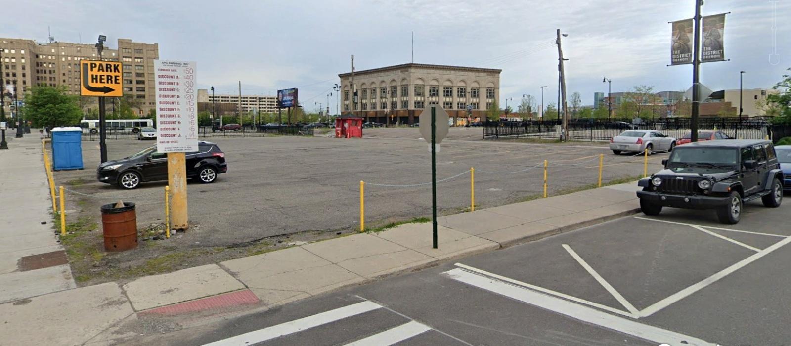 204 West Adams, Detroit, Michigan 48226, ,Parking Lot,For Sale,204 West Adams,1008