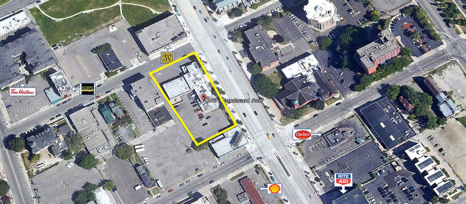 4747 Woodward Ave, Detroit, Michigan 48201, ,Office,For Sale,4747 Woodward Ave,1013