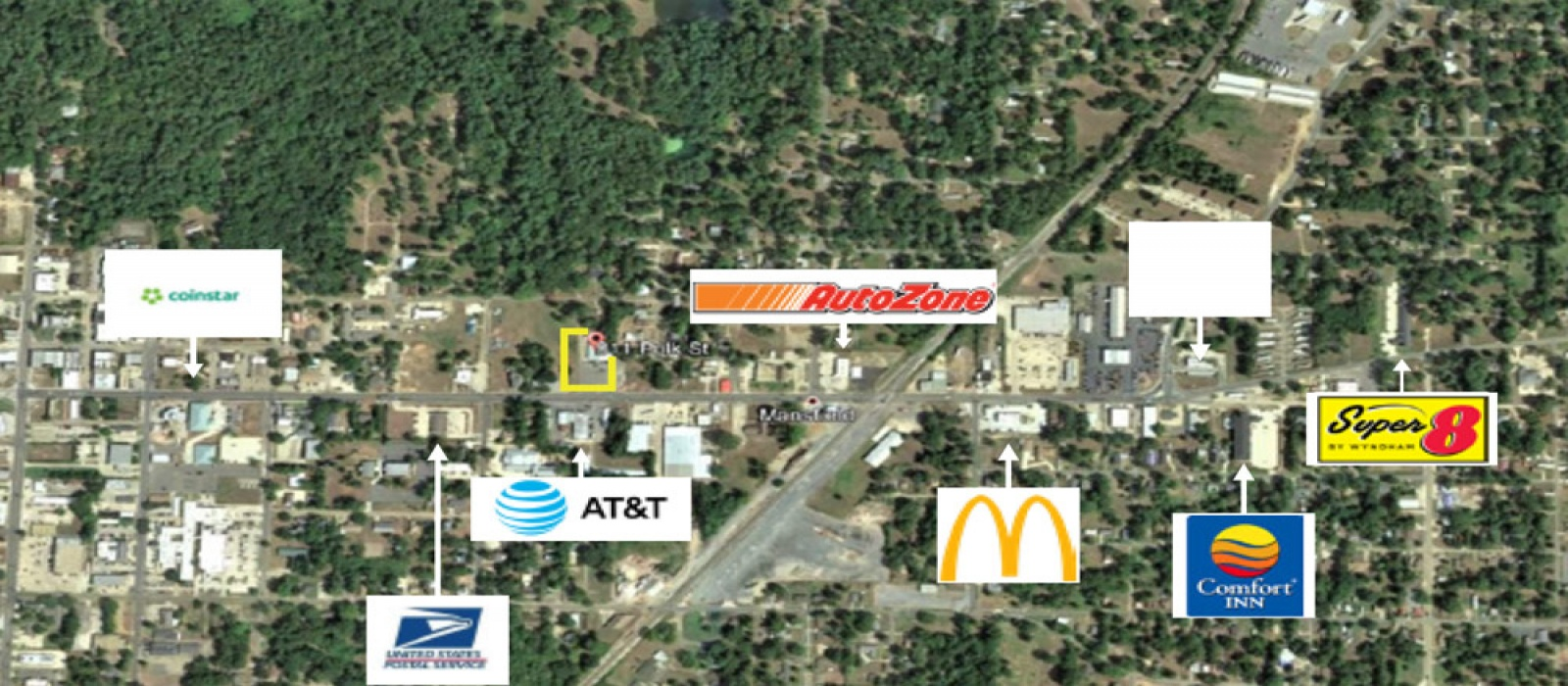 811 Polk St, Mansfield, Louisiana 71052, ,Retail,For Lease,811 Polk St,1030
