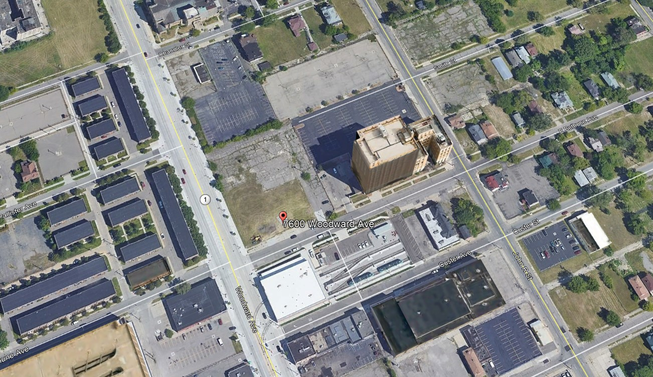 7600 Woodward, Detroit, Michigan 48202, ,Vacant Land,For Sale,7600 Woodward,1045