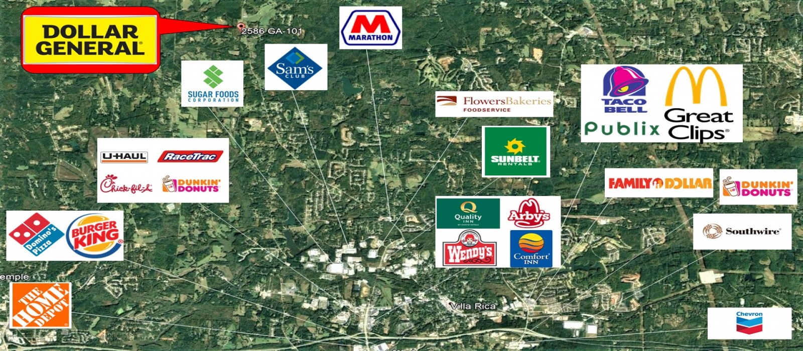2586 Highway 101 S, Villa Rica, Georgia 30180, ,Retail,For Sale,2586 Highway 101 S,1049