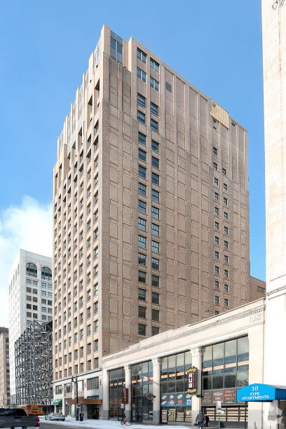 28 West Adams Avenue, Detroit, Michigan 48226, ,Office,For Lease,28 West Adams Avenue,1050